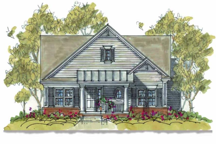 Main image for house plan # 5820