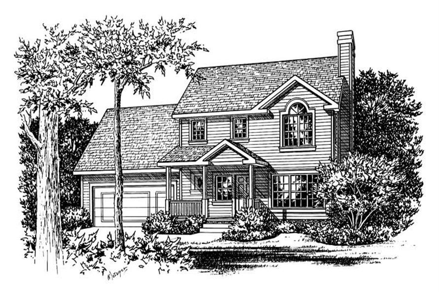 Main image for house plan # 5508