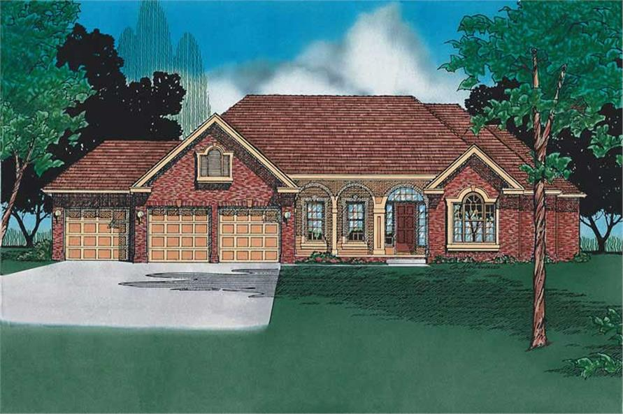Main image for house plan # 5906