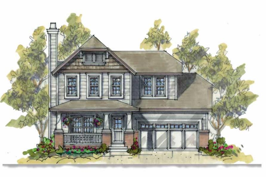 Main image for house plan # 5812