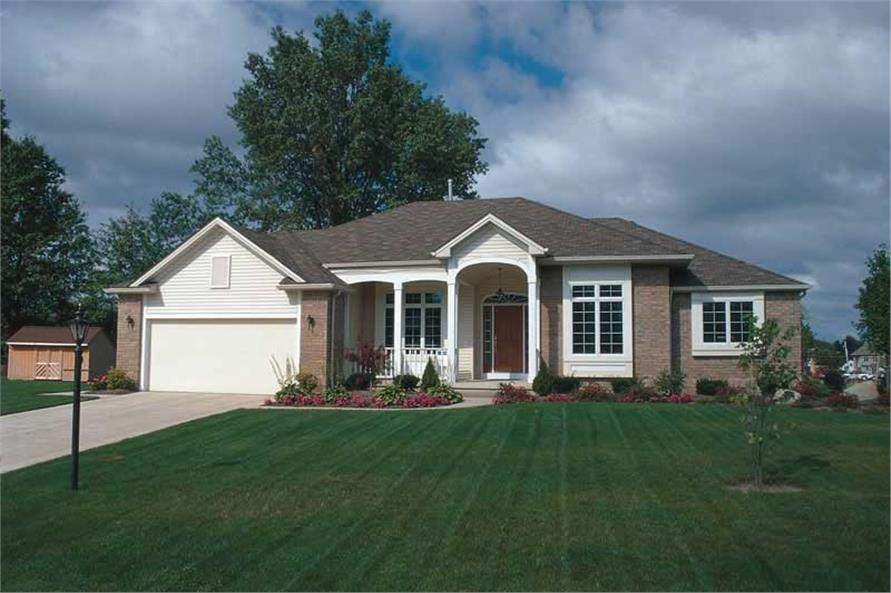Main image for house plan # 5885