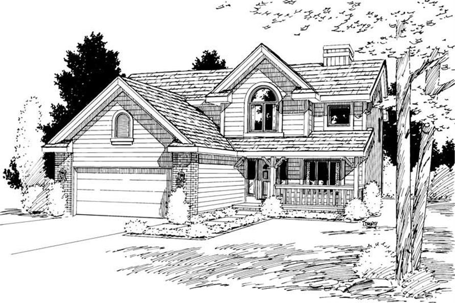 Main image for house plan # 5742