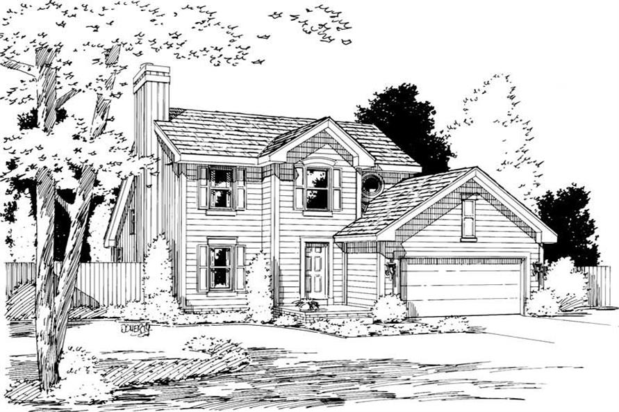 Main image for house plan # 5743