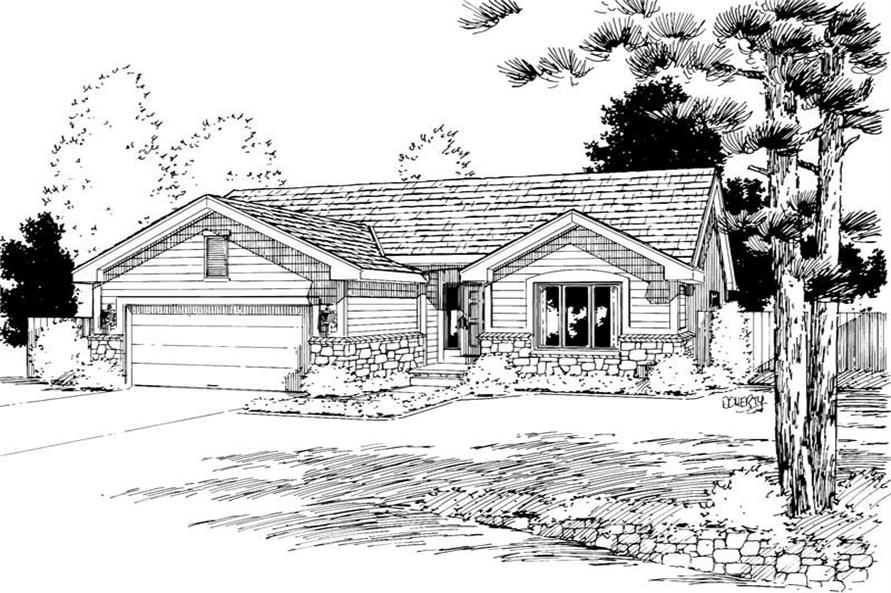 Main image for house plan # 5748