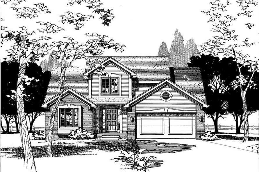 Main image for house plan # 5315