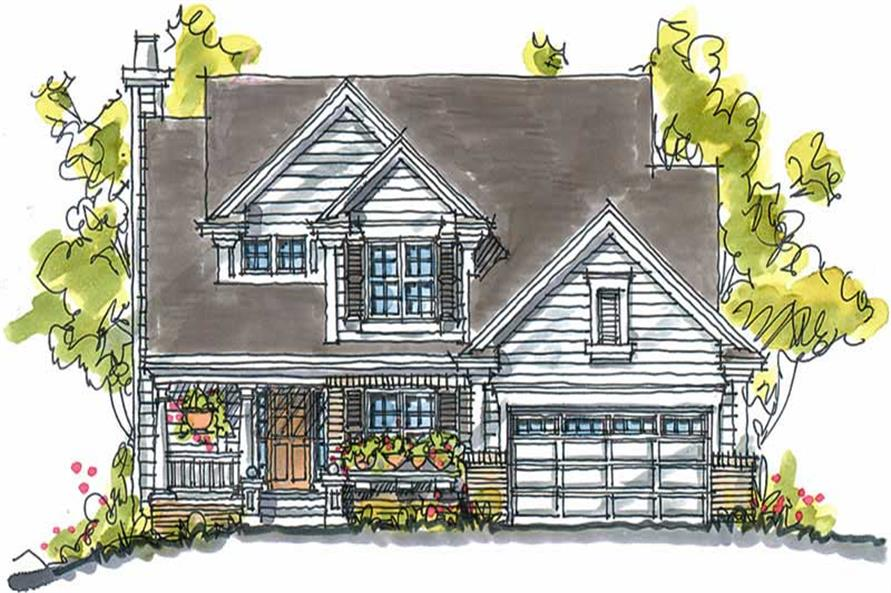 Main image for house plan # 5800