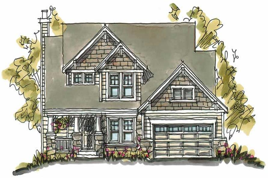 Main image for house plan # 5803