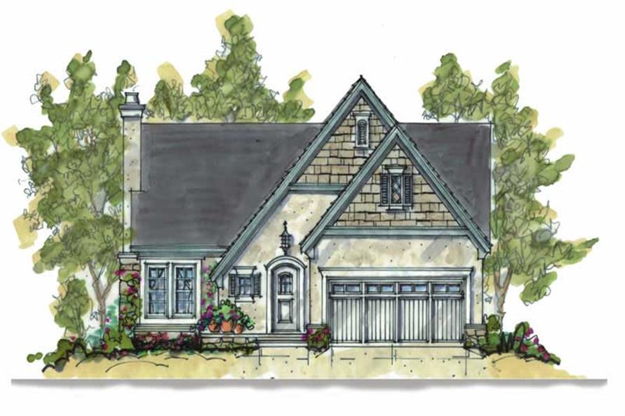 Main image for house plan # 5806