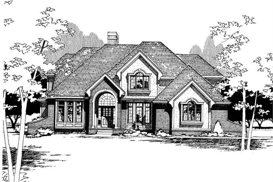 Main image for house plan # 5307
