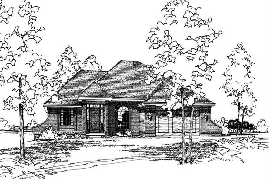 Main image for house plan # 5170