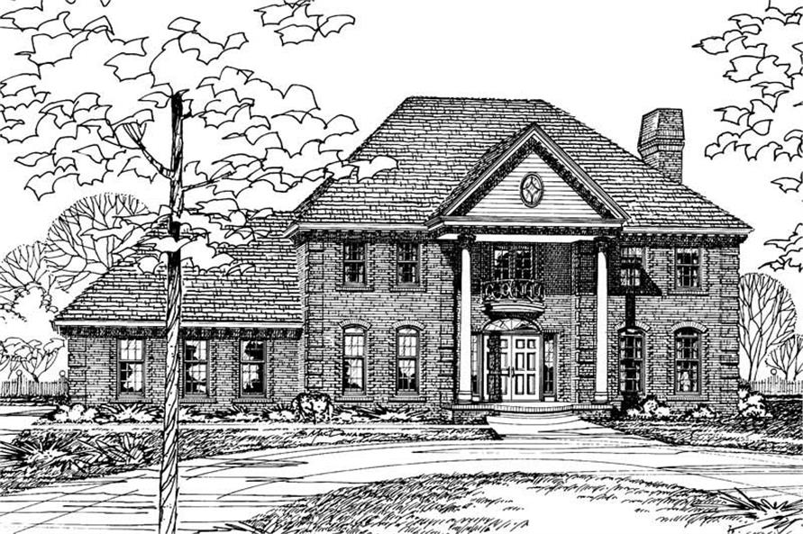 Main image for house plan # 5179