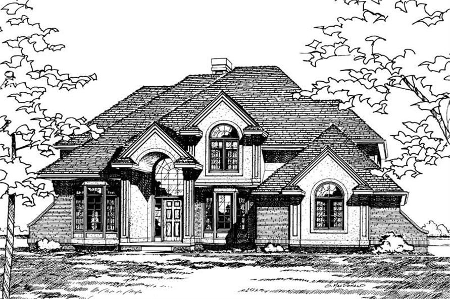Main image for house plan # 5183