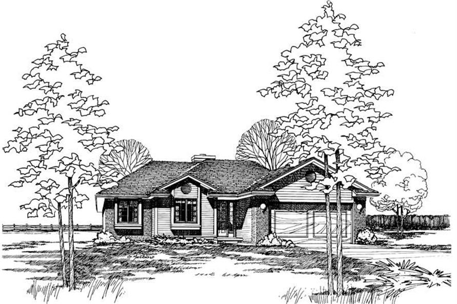 Main image for house plan # 5185