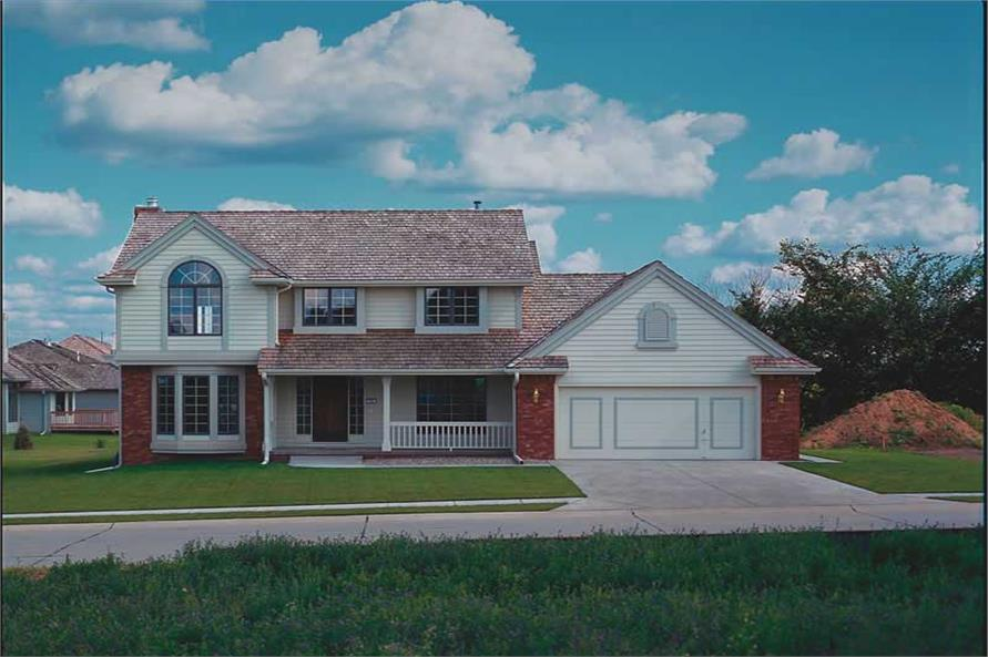 Main image for house plan # 5187