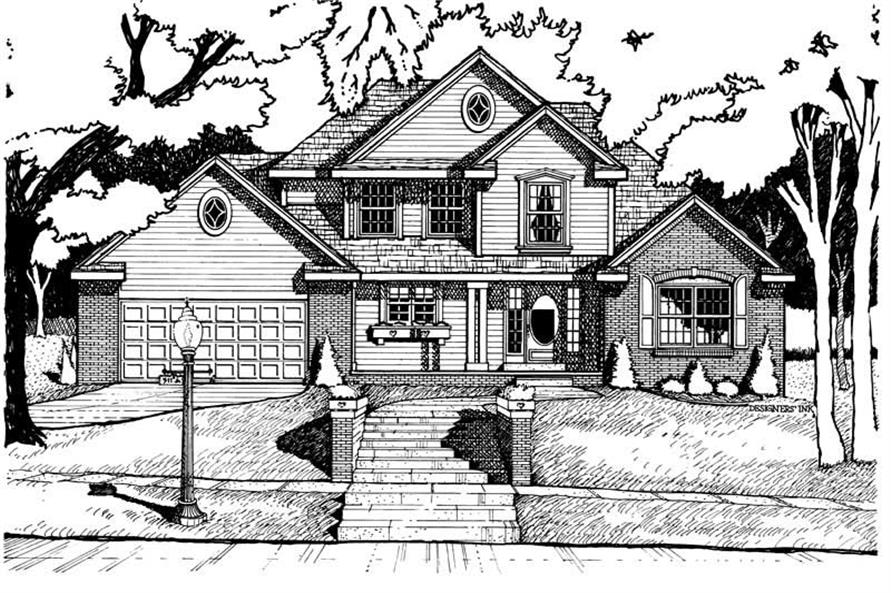 Main image for house plan # 6238
