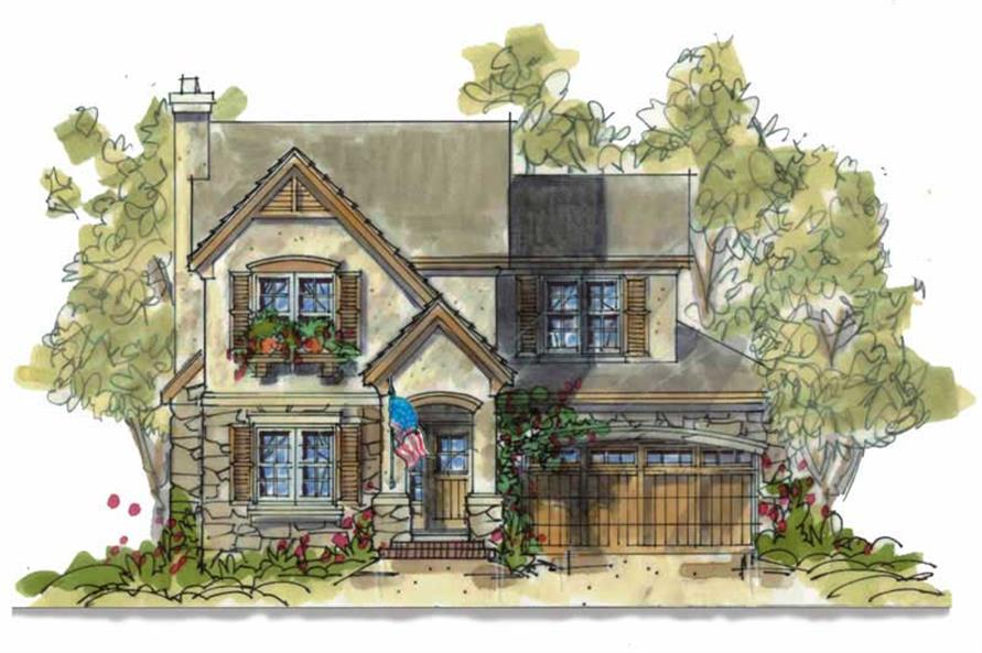Main image for house plan # 6391