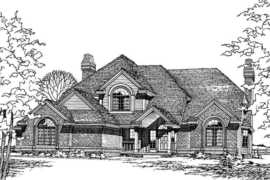 Main image for house plan # 5138