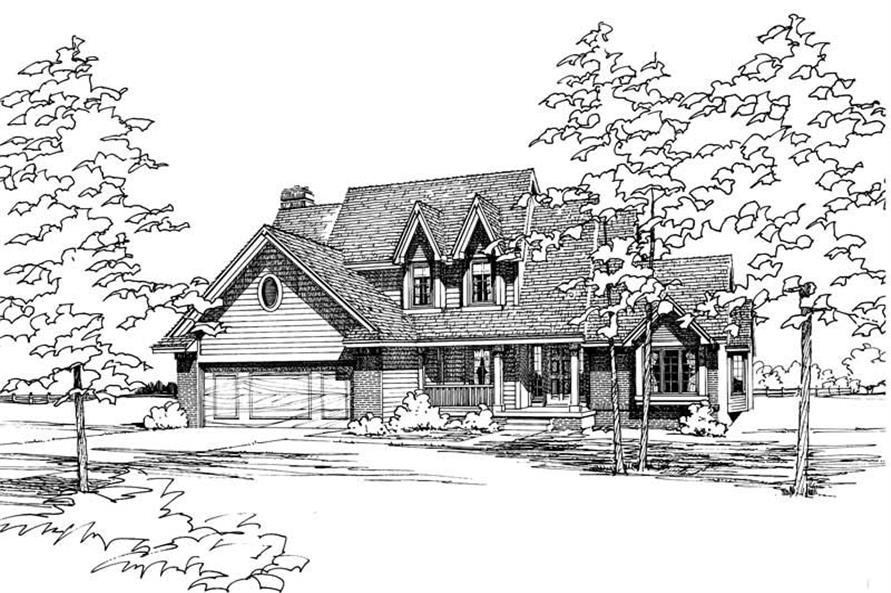 Main image for house plan # 5149
