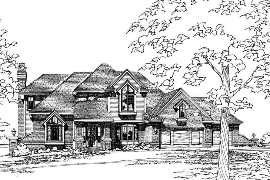 Main image for house plan # 5153