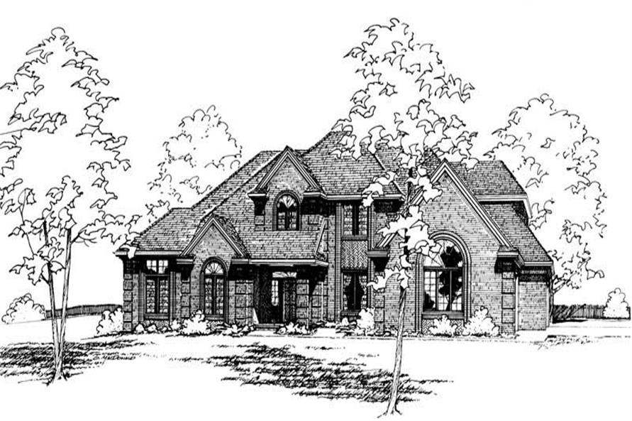 Main image for house plan # 5157