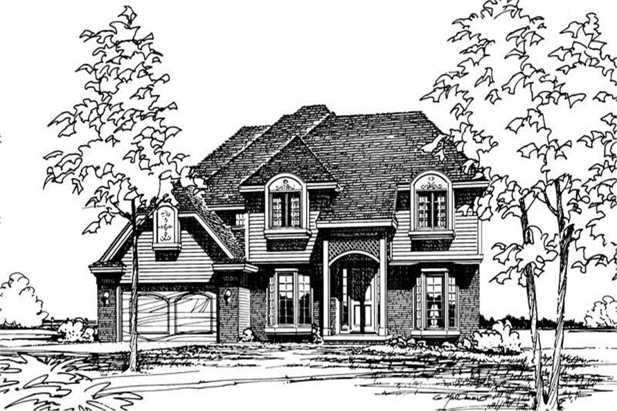 Main image for house plan # 5158
