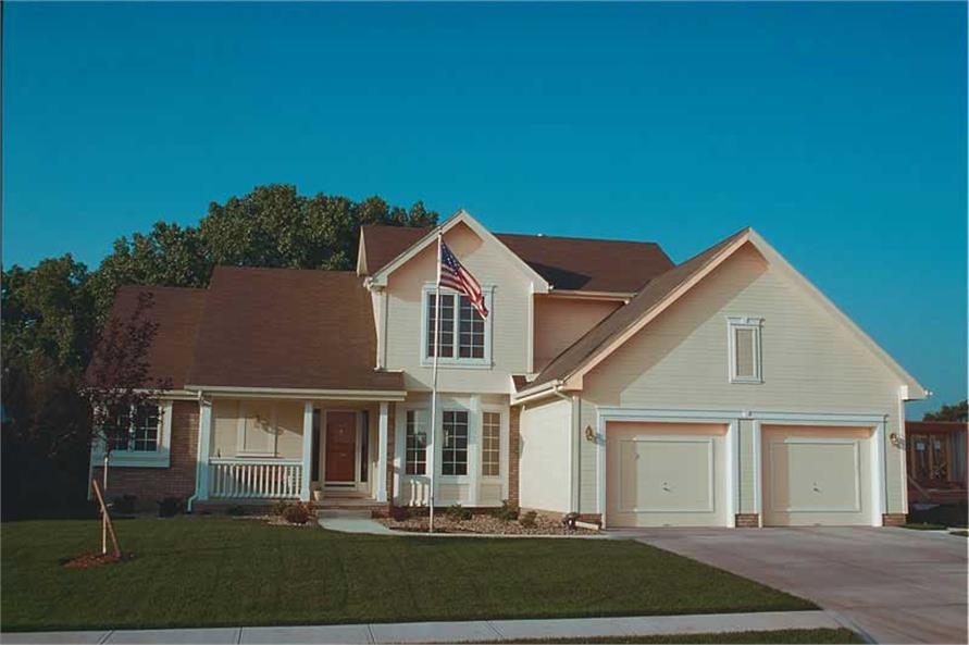 Main image for house plan # 5289