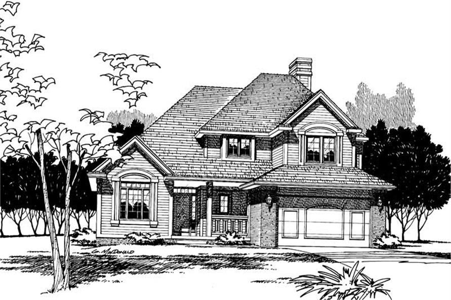 Main image for house plan # 5299