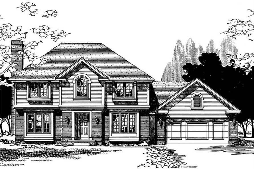 Main image for house plan # 5337