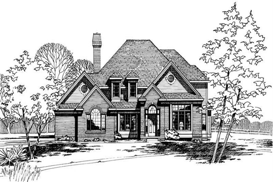 Main image for house plan # 5253