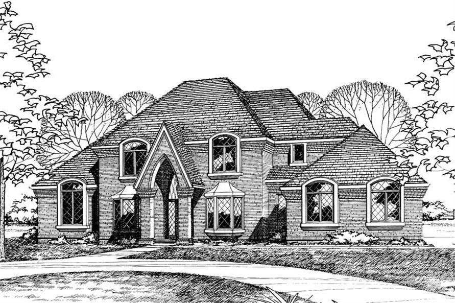 Main image for house plan # 5214