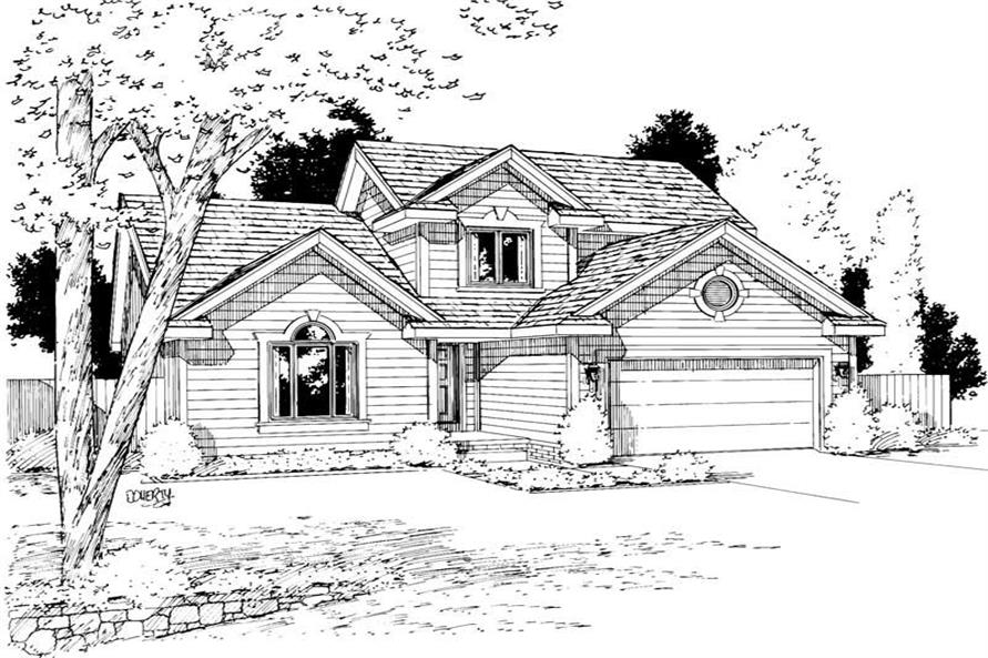 Main image for house plan # 5747