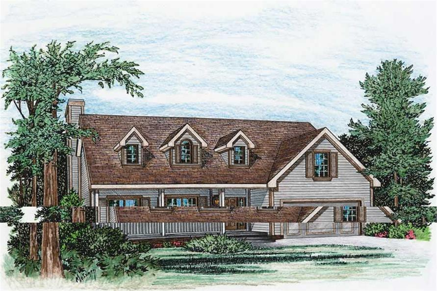 Main image for house plan # 5499