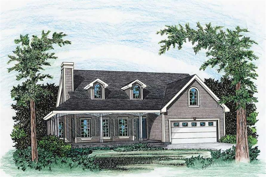 Main image for house plan # 5500