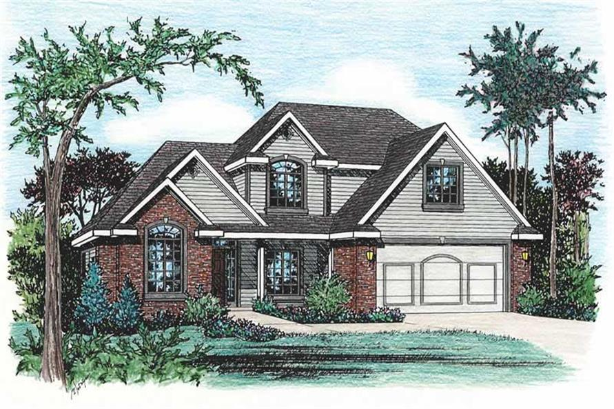 Main image for house plan # 5506