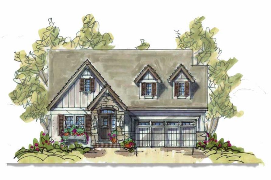 Main image for house plan # 5823