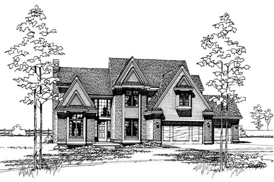 Main image for house plan # 5847