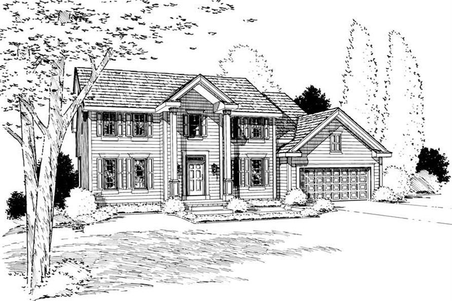 Main image for house plan # 5651