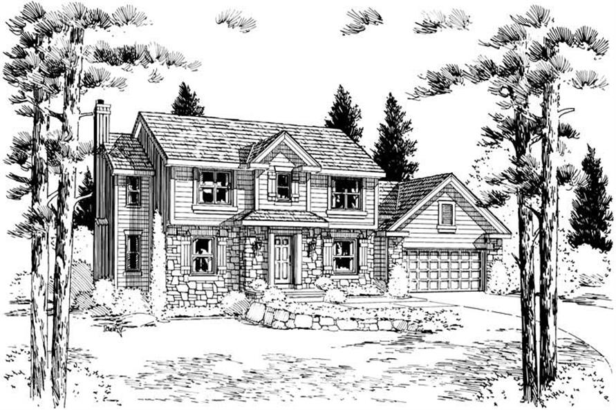 Main image for house plan # 5652