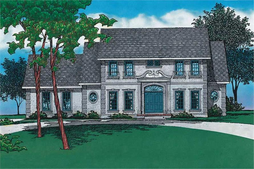 Main image for house plan # 5921