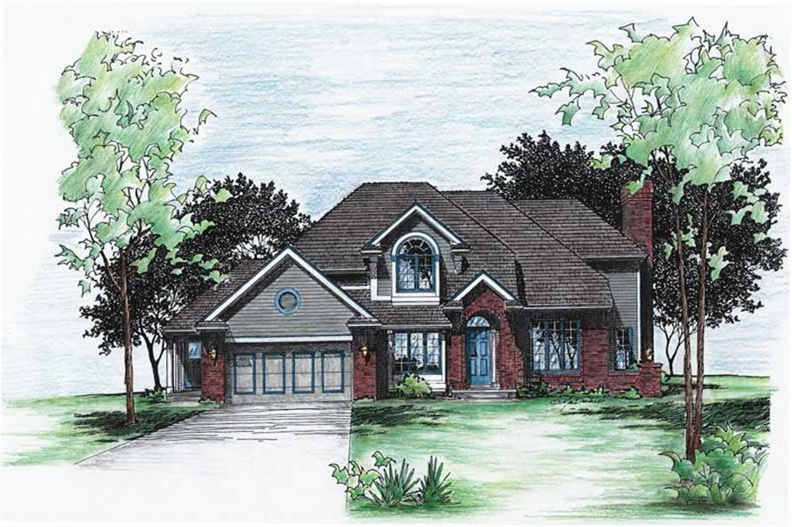 Main image for house plan # 5961