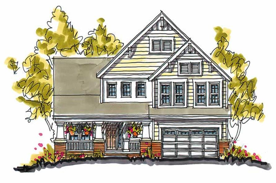 Main image for house plan # 5799