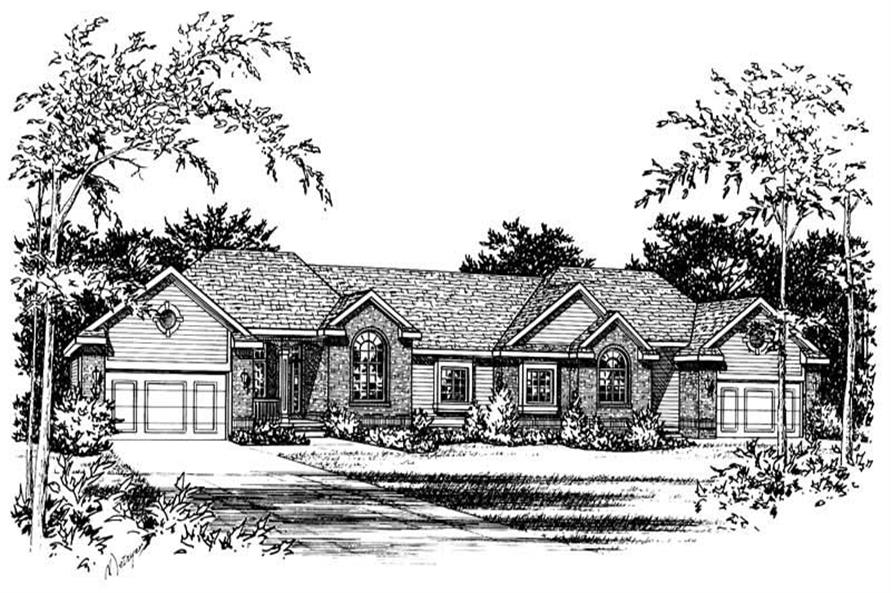 Main image for house plan # 5608