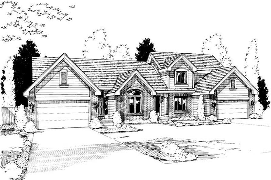 Main image for house plan # 5765