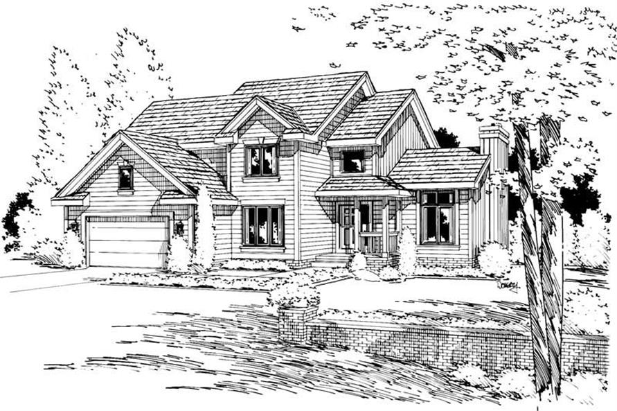 Main image for house plan # 5713