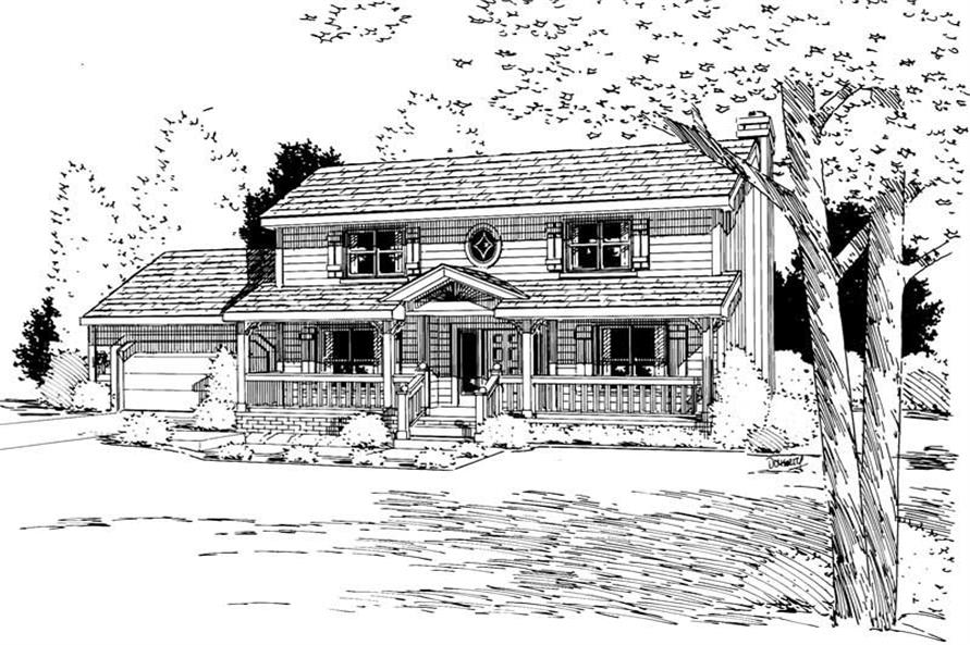 Main image for house plan # 5714