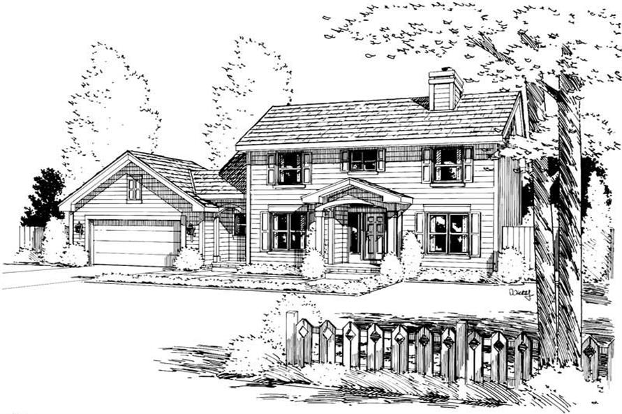 Main image for house plan # 5715