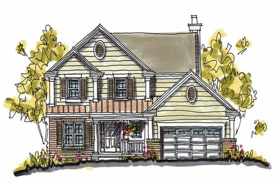 Main image for house plan # 5769