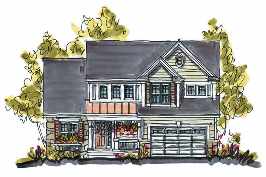 Main image for house plan # 5797