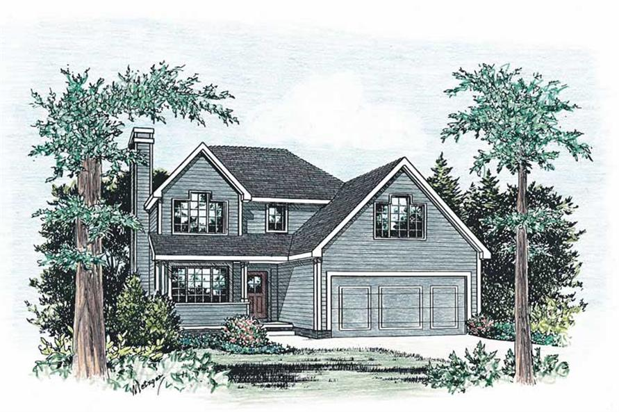 Main image for house plan # 5483