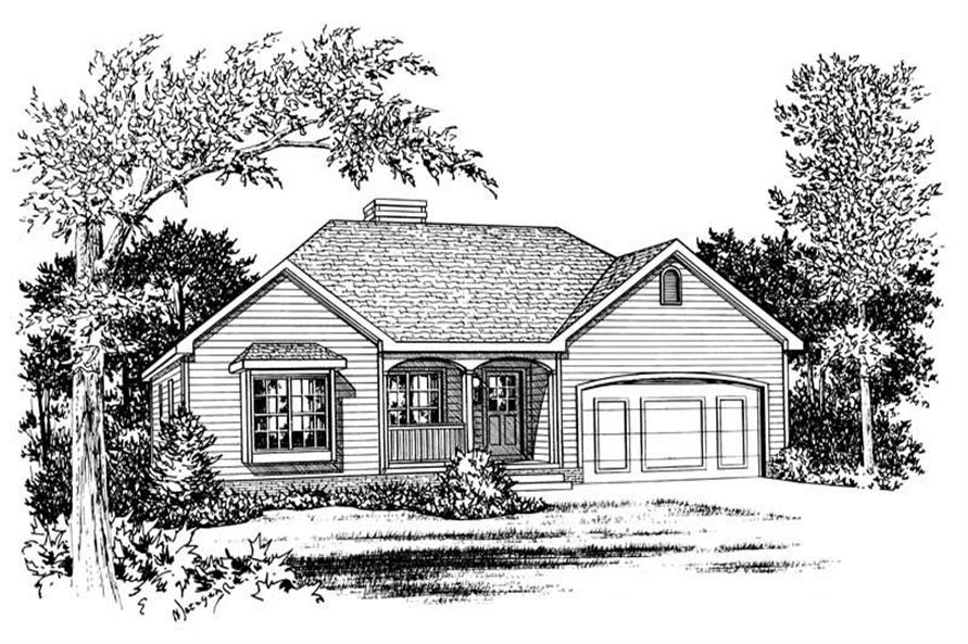 Main image for house plan # 5496